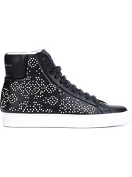 Givenchy Studded Hi Top Sneakers Black