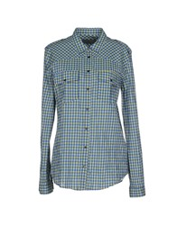 M.Grifoni Denim Shirts Shirts Women Acid Green