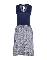 .Tessa Dresses Short Dresses Women Dark Blue