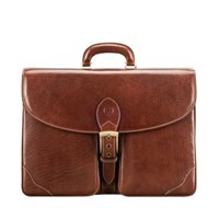 Maxwell Scott Bags Luxury Italian Large S Leather Briefcase