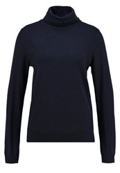 Tom Tailor Denim Jumper Dark Navy Blue Melange Dark Blue