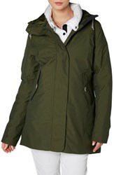 Helly Hansen Waterford Weatherproof Hooded Parka Forest Night