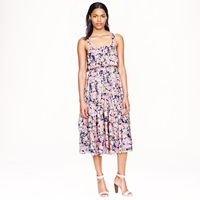 J.Crew Collection Silk Floral Dress