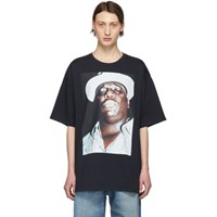 R 13 R13 Black Oversized Biggie Hat T Shirt