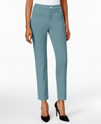 Charter Club Ankle Pants Only At Macy's Dusted Aqua
