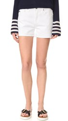 Ag Jeans The Hailey Slouchy Shorts White