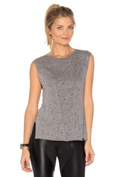Koral Move Crop Top Gray