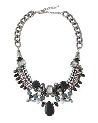 Emily And Ashley Statement Crystal Choker Necklace Black