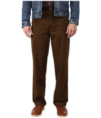 Dockers Comfort Khaki Upgrade Relaxed Flat Front Lumber Men's Casual Pants Burgundy