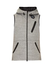 Y 3 Digital Sleeveless Hooded Sweatshirt