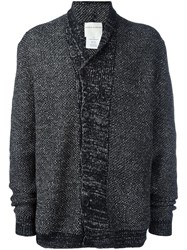 Stephan Schneider Off Centre Fastening Cardigan Black