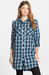 Women's Caslon Two Pocket Tunic Shirt