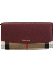 Burberry 'Porter' Wallet Pink And Purple