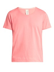 Sorensen Driver Scoop Neck Cotton Jersey T Shirt Pink