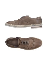 Barracuda Lace Up Shoes Dove Grey
