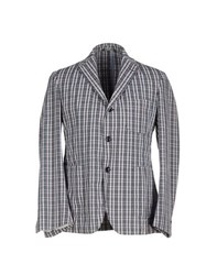 Betwoin Suits And Jackets Blazers Men Light Grey