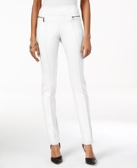 Style And Co Pull On Skinny Pants Only At Macy's Bright White