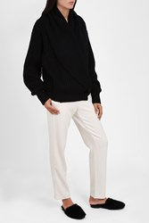 The Row Loretta Cardigan Black