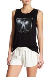David Lerner Graphic Tank Black