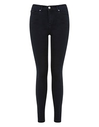 Miss Selfridge Sofia Legging Fit Jeans Navy Blue