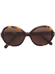 Selima Optique 'Jaqueline' Sunglasses Acetate Brown