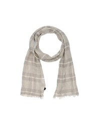 Blauer Accessories Oblong Scarves Men Light Grey