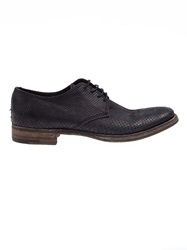L'eclaireur Made By Distressed Derby Shoes Black