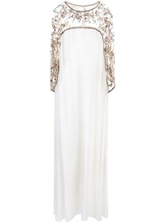 Marchesa Beaded Georgette Gown 60