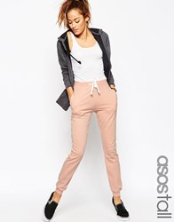 Asos Tall Lightweight Joggers With Contrast Tie Black