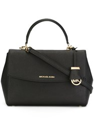 Michael Michael Kors Medium 'Ava' Satchel Black