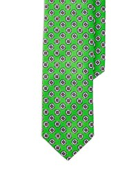 Polo Ralph Lauren Patterned Silk Tie Green