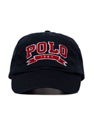 Polo Ralph Lauren Logo Embroidered Baseball Cap Blue