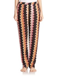Missoni Mare Lurex Detail Zigzag Pants Multi