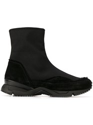 Damir Doma 'Fitzgerald' Hi Top Sneakers Black