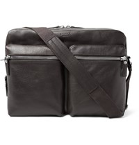 Shinola Leather Messenger Bag Brown