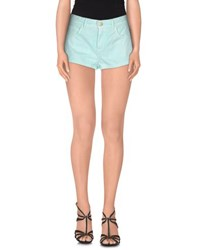 North Sails Denim Denim Shorts Women Light Green