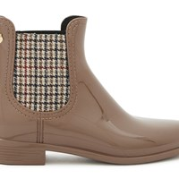 Lemon Jelly Sloane Ankle Boots Puce Tweed