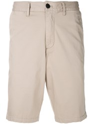 Emporio Armani Short Sleeved Polo Shirt Nude And Neutrals