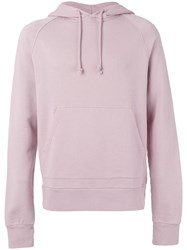 Tres Bien 'Raglan' Hoodie Men Cotton 50 Pink Purple