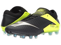 Diadora Mw Rb Blushield Bsh12 Black Yellow Flourescent Soccer Shoes Multi