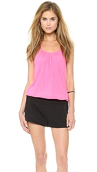 Ramy Brook Jm Halter Top Neon Pink