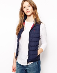 Jack Wills Lightweight Gilet Navy