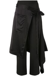 Monse Apron Style Trousers Black