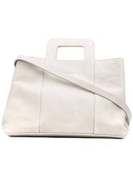 Marsell Tote Bag Women Leather One Size Grey