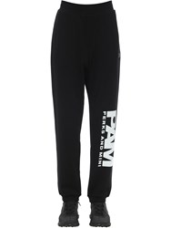 Pam Perks And Mini Btc Jogger Unisex Cotton Sweatpants Black