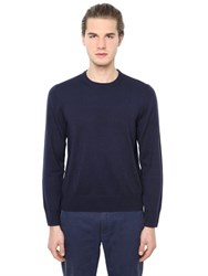 Brooks Brothers Round Neck Wool Sweater