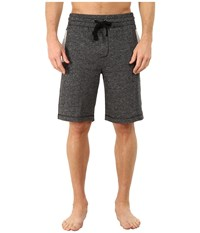 2Xist Athleisure Active Core Terry Shorts Black Heather Men's Shorts