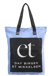 Day Birger Et Mikkelsen Carry Tote Bag Colony Blue