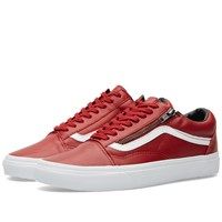 Vans Old Skool Zip Antique Red