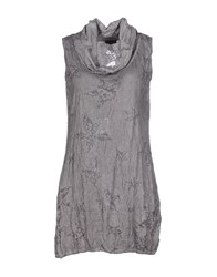 Street One Dresses Short Dresses Women Grey